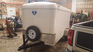 5x10 cargo trailer enclosed