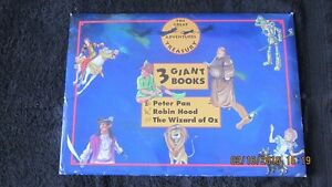 Unique Giant Books set of 3 NEW
