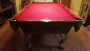 Billiard Table- Like New- $1250