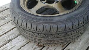mags bronze 15po et pneu 195 50 15