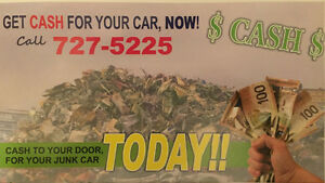CASH CASH PAID FOR UNWANTED VEHICLES