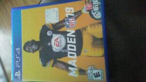 PS4 Game MADDEN 19 ~ $40