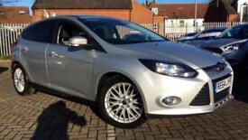 2014 Ford Focus 1.0 125 EcoBoost Zetec 5dr Manual Petrol Hatchback