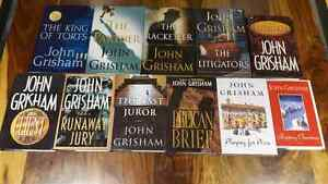 Collection of 11 john grisham 1st edition books  West Island Greater Montréal image 1