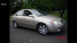 2005 Kia Spectra SAFTIED AND ETESTED
