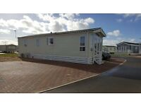 caravan for rent 8 berth 3 bedrooms,brand new with SEA VIEWS.