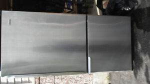 22cubic ft stainless steel fridge for sale