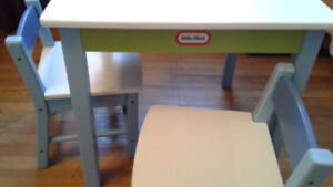 Little Tikes Table and Two Chairs