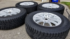 Winter Tire and Rim Package- Tires 245/65/17 - Rims 17x7 5x114.3