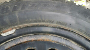 Set of 4 Winter Rims and tires