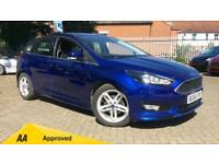 2016 Ford Focus 1.0 EcoBoost 125 Zetec S (Nav) Manual Petrol Hatchback