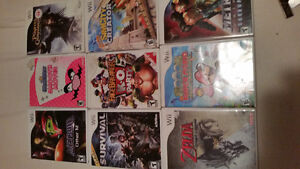 nintendo wii games and magazines