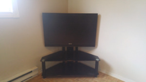 42'  toshibia tv and stand