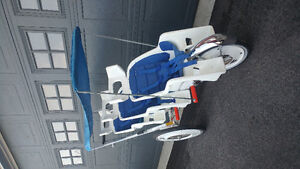 Triple Runabout Stroller
