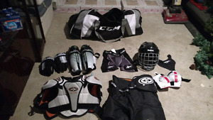Bauer, Easton, Reebok, and CCM hockey equipment FOR SALE!!!