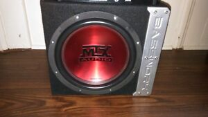 MTX SUBWOOFER IN A SEALED BASSWORX BOX 4 SALE OR TRADE