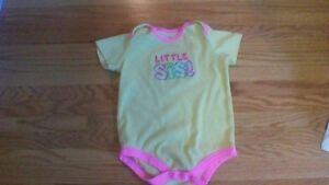 Little Sis Onsie Size 18-24 Months