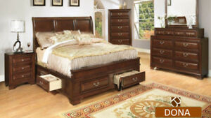 WAREHOUSE CLEARANCE SALE -QUEEN SIZE BED