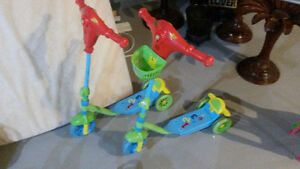 Kid's Skooters, Rollerblades & Ride-on toys