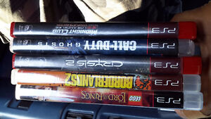 30.00 deal for 100.00 worth of games, 5 games for PS3