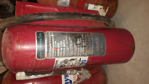 Cartridge operated fire extinguishers