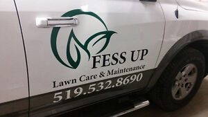 Fess Up Lawn Care & Maintenance - BEST IN TOWN