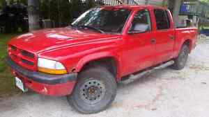 2003 dodge dakota quad cab 4x4