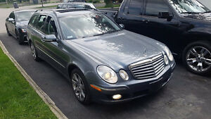 2007 MERCEDES-BENZ E3504M WAGON AWD - WE PAY HST! 7 passenger!