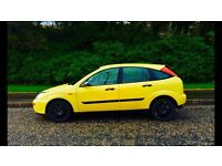 Ford Focus Millennium, ONE YEARS MOT, Full Black Leather, 83000 Miles, Limited Edition