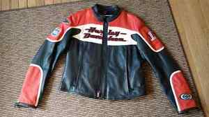 Large Ladies Leather Jacket