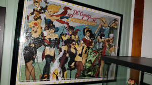 DC Comics Framed Bombshell puzzle