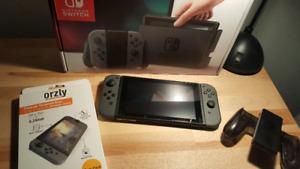 Nintendo Switch 96GB avec 9 jeux.