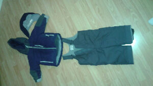 Boys 12-18 month snow suit with hat