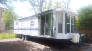 1998 38 foot Terry travel or Park Model with double slides