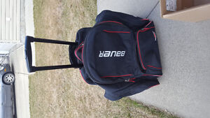 Bauer Wheeled Hockey bag