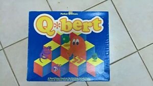 Rare Q*Bert board game from the 80's