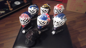 Collection casques hockey