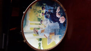 Collectable Avon plate with certificate