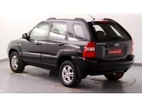 2008 Kia Sportage 2.0 CRDi VGT XE Diesel black Manual