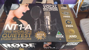 Rode NT1A Complete Vocal Recording Solution