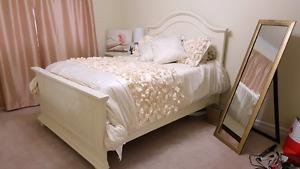 Beautiful Cream Bedroom Set