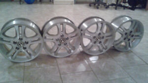 "Honda Alloy wheels 16""x6.5"""