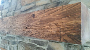 Wood beams ceiling beams fireplace mantels barn wood reclaimed w