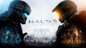 HALO 5  FOR XBOX ONE - MOVING SALE!!
