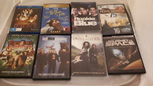 Various DVDs and Blu-Rays