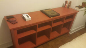TV stand and book case shelving unit from IKEA. Great Condition.