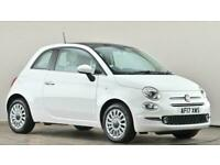 2017 Fiat 500 1.2 Lounge 3dr Hatchback petrol Manual