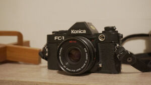 Konica FC-1 with 40mm Lens