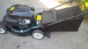 lawn mower yardworks 173 cc  brand new rear wheel drive with bag