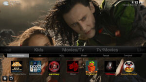 IPTV and Kodi TV/Movie Media Boxes,  Android